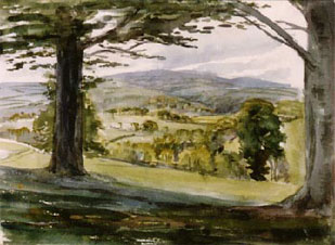 Gwaenynog, Denbighshire, May 1912 Reproduced here by kind permission of the Rare Book Department,  Free Library of Philadelphia