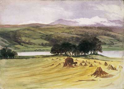 Esthwaite Water at Harvest TimeBeatrix Potter, c.1895